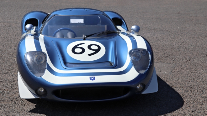 The Ecurie Ecosse LM69 sports car from Design Q.