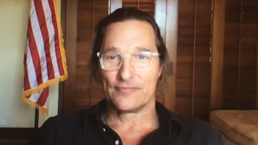 Matthew McConaughey previews the 2021 Lincoln Nautilus and his new book via Zoom.