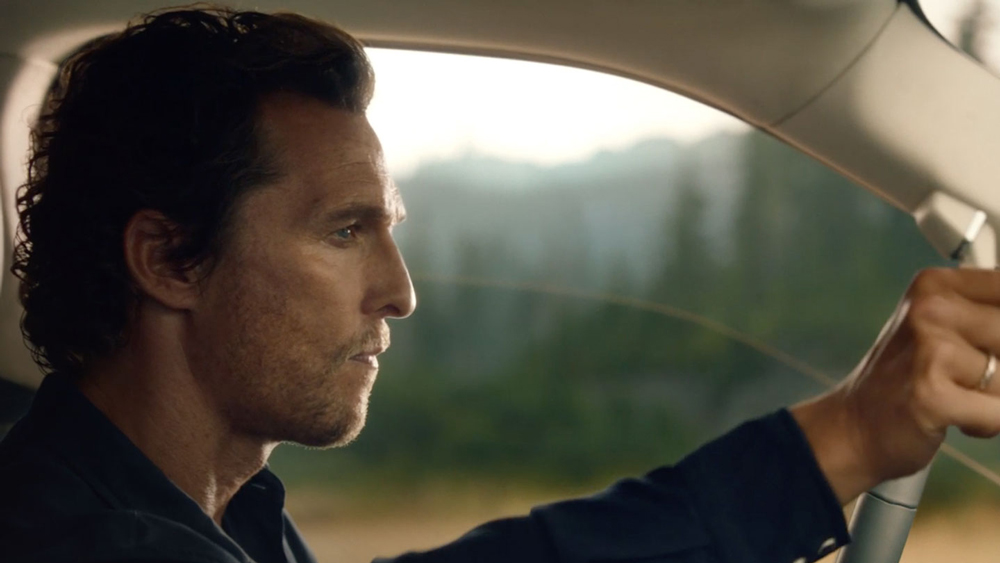 Matthew McConaughey has collaborated with Lincoln for nearly seven years.