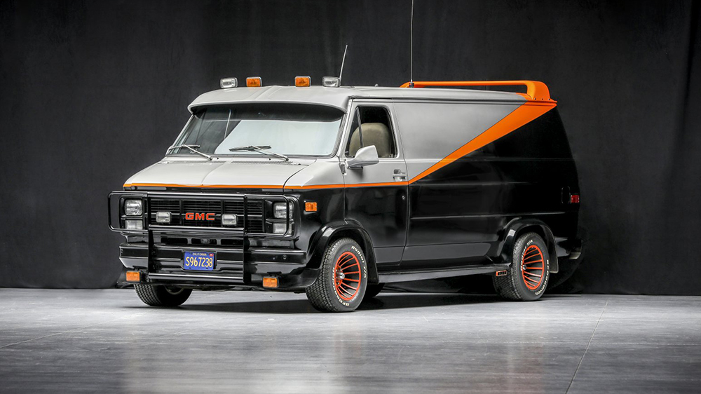 A 1979 Chevy Van From The A Team Is Heading To Auction Robb Report