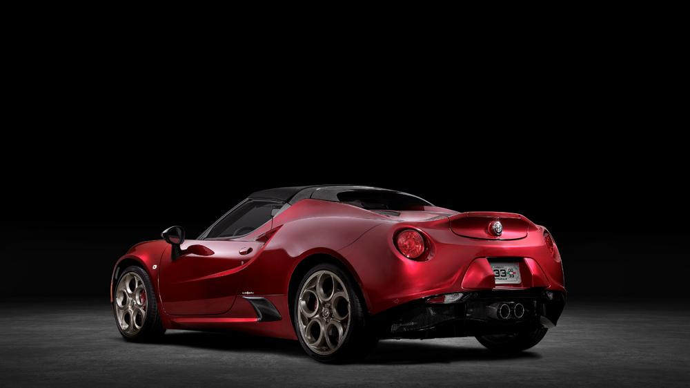 The 2020 Alfa Romeo 4C Spider 33 Stradale Tributo.