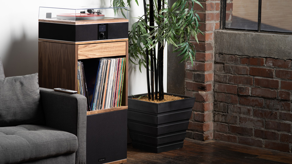 The Model-One Turntable Music System from Andover Audio.