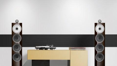 The Bowers & Wilkins 702 Signature loudspeakers.