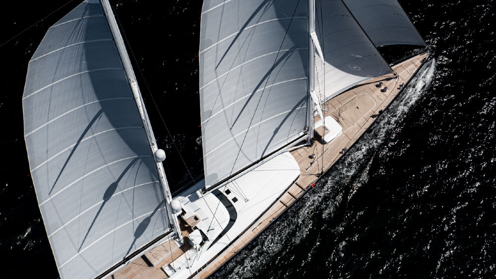 Sea Eagle II is the largest aluminum sailing yacht in the world