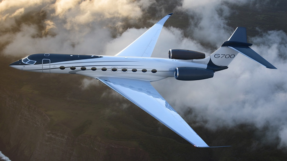 The Gulfstream G700 has the largest interior of any purpose-built business jet