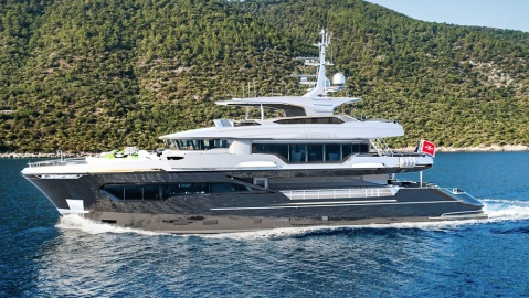 NBA Superstar Tony Parker is ready to take delivery of his 115-foot expedition superyacht