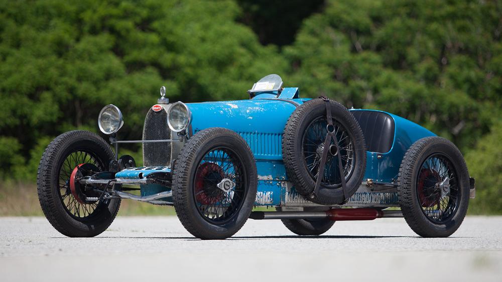A 1926 Bugatti Type 37 Grand Prix.