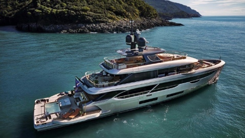 The Benetti Oasis 40M is a new superyacht design that features a huge rear section