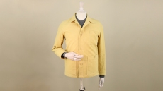 Anderson & Sheppard's No.2 chore coat in moleskin.