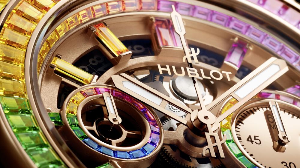 Hublot Big Bang Unico High Jewelry Rainbow