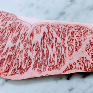a5 kobe beef strip steak
