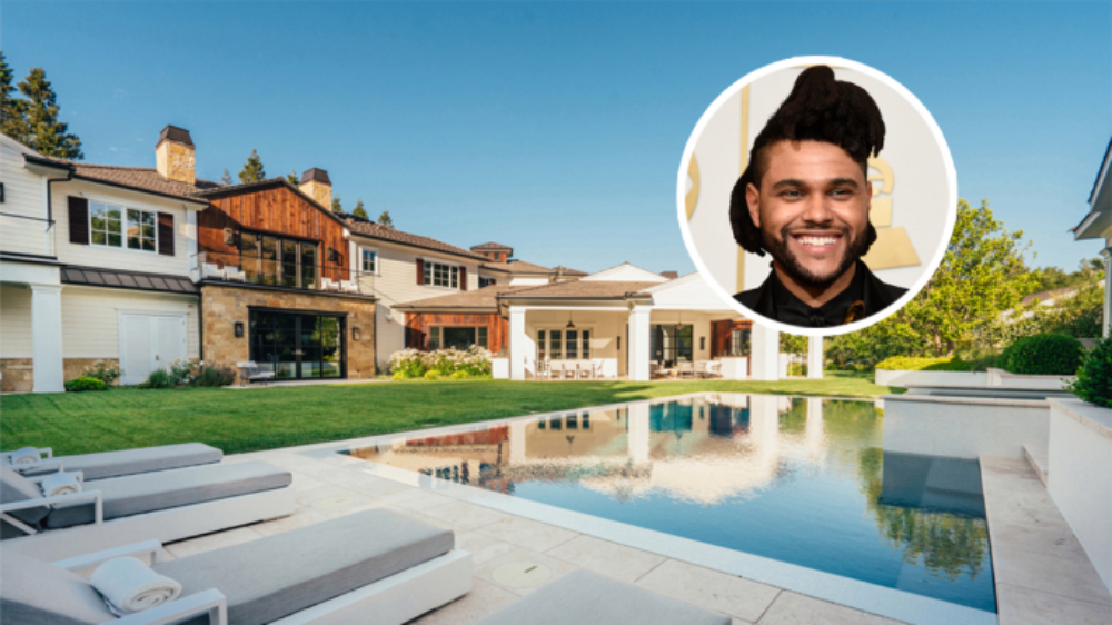 The Weeknd Hidden Hills mansion