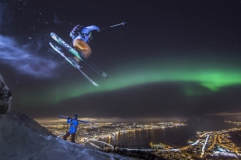 Arctic skiing in Tromso