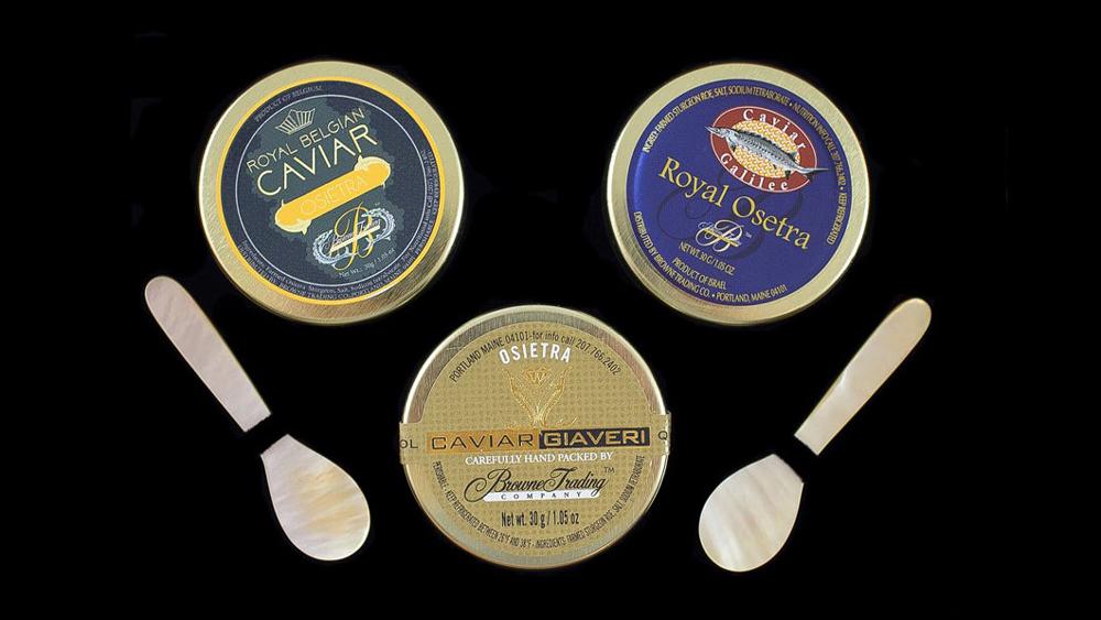 Browne Trading Company, Royal Osetra Tasting
