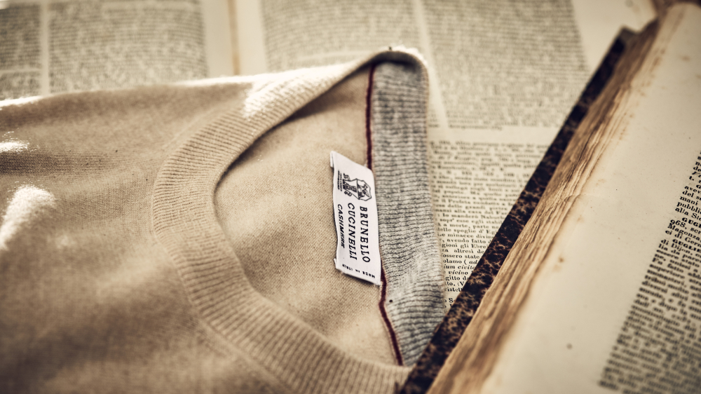 Brunello Cucinelli Never Ending Stories cashmere