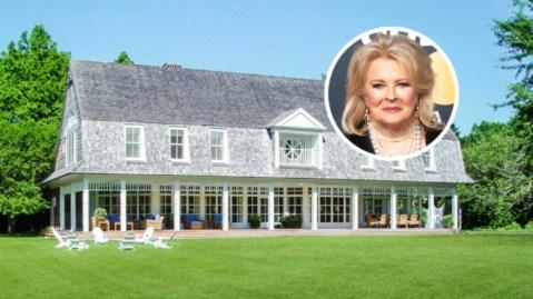 Candice Bergen Hamptons home