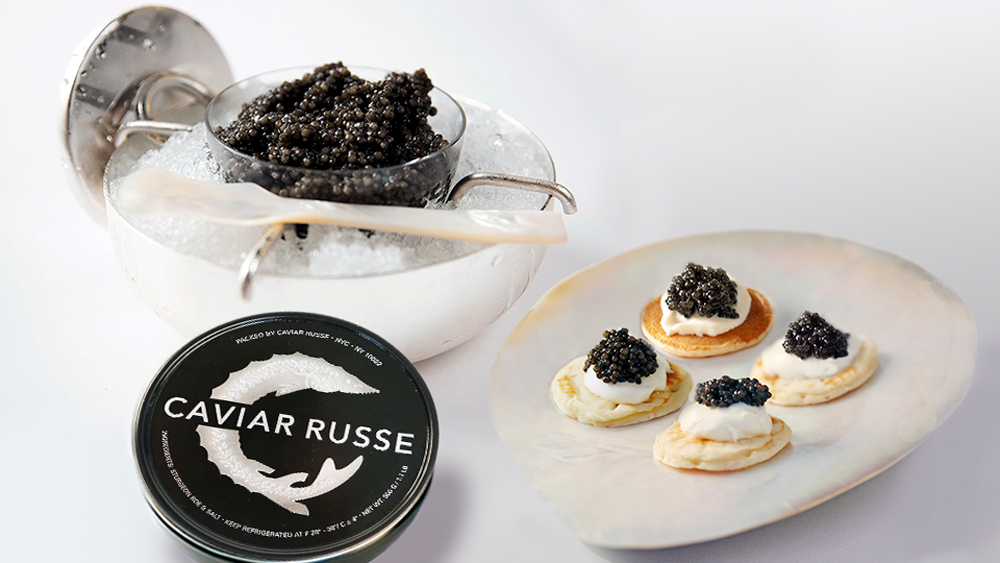 Caviar Russe, The Jubilant Collection