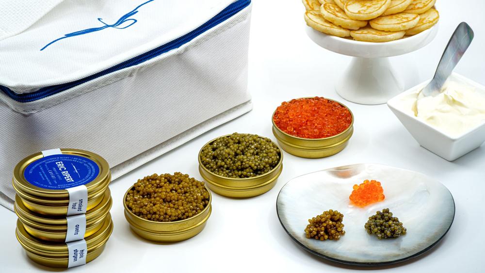Paramount, Eric Ripert Caviar Flight