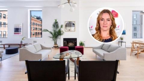 Kate Winslet Chelsea penthouse