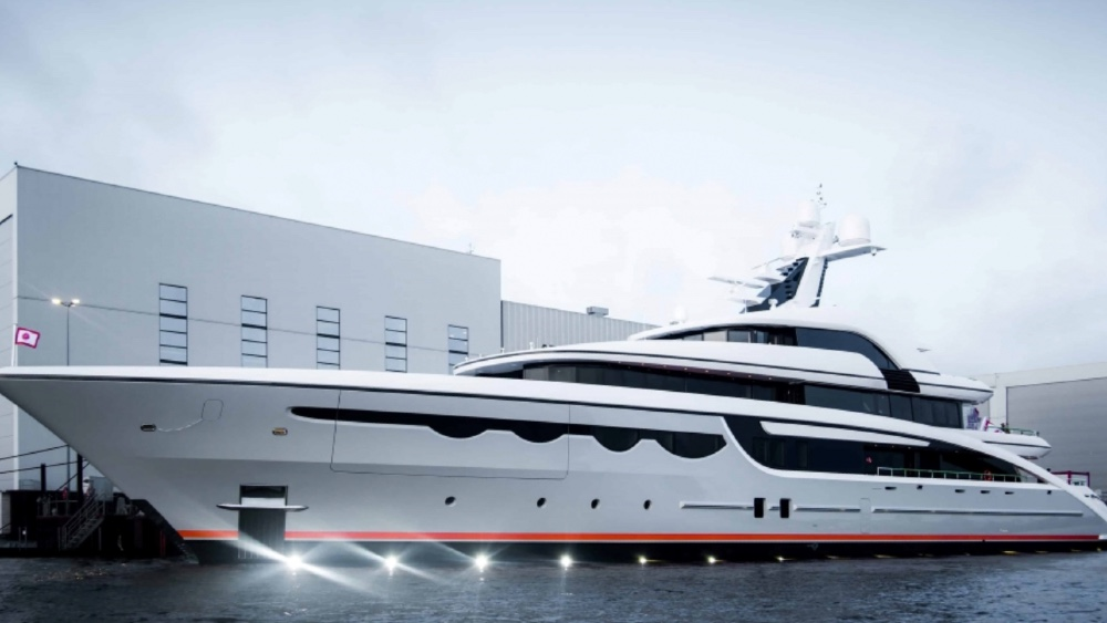 Abeking and Rasmussen launched Soaring in the summer as an expedition yacht that can also be chartered