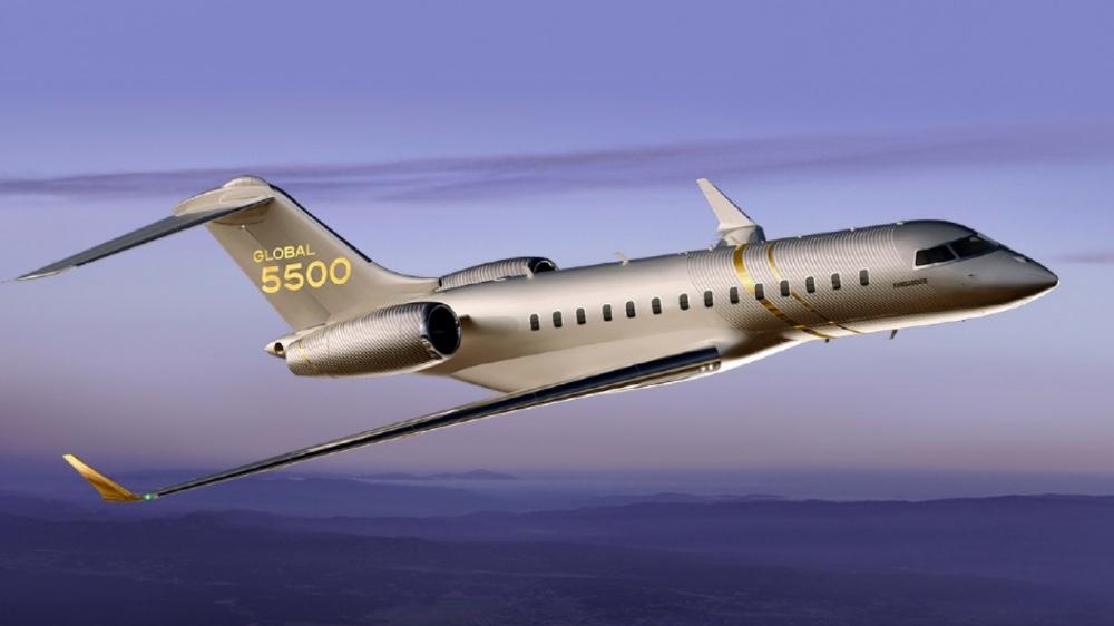 هواپیما و جت تجاری Bombardier Global 5500