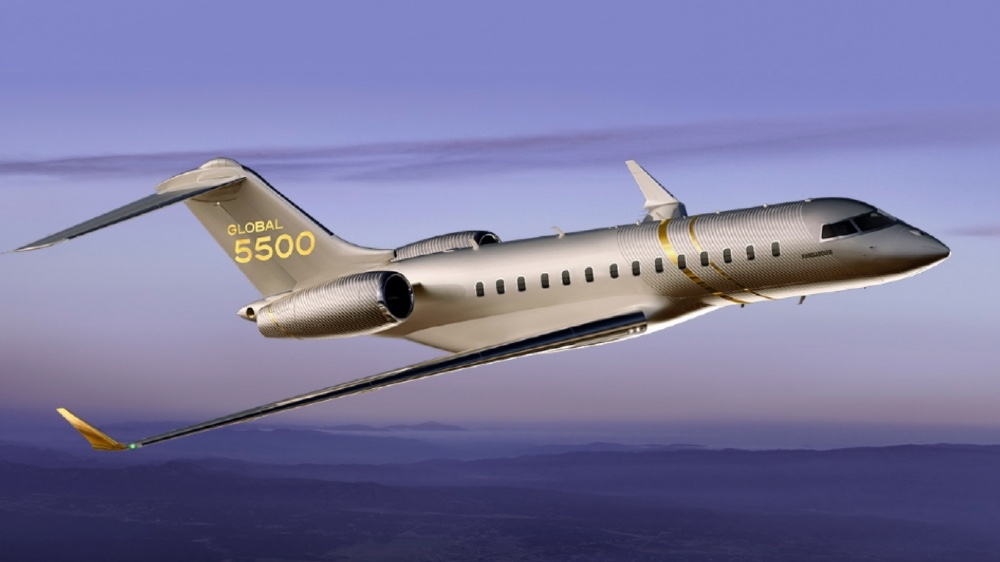 Bombardier's Global 5500 is one of the coolest business jets launched this year