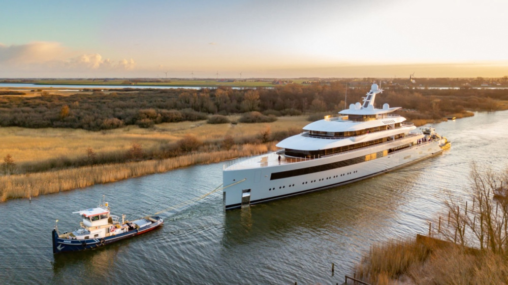 Feadship's Moonrise is the largest Feadship ever built