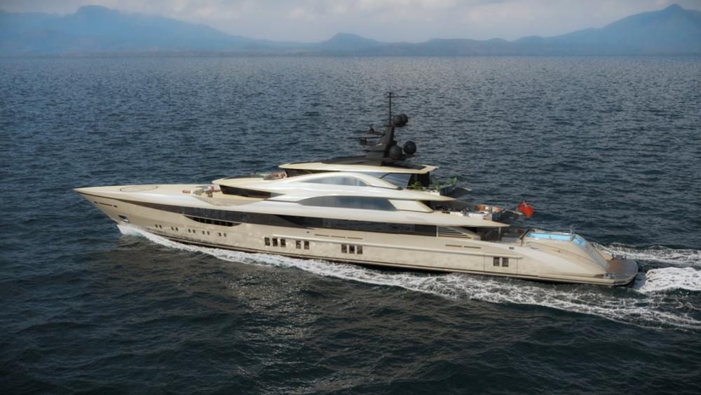 Bilgin 262 is the largest yacht ever built in Turkey