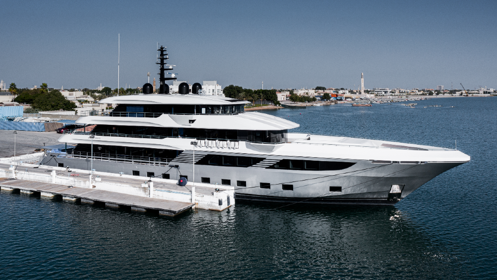 The Gulf Craft Majesty 175 is now the world's largest production fiberglass yacht