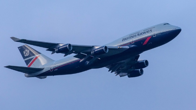 This retired British Airways 747 is becoming a movie set at Dunsfold Aerodrome in the U.K.