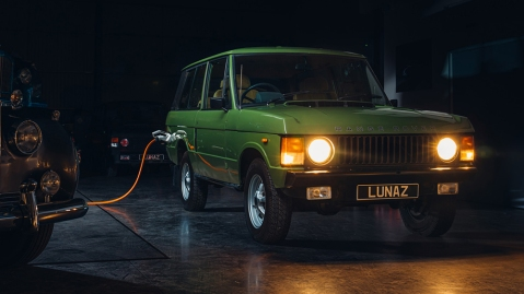 Lunaz Electric Range Rover Classic