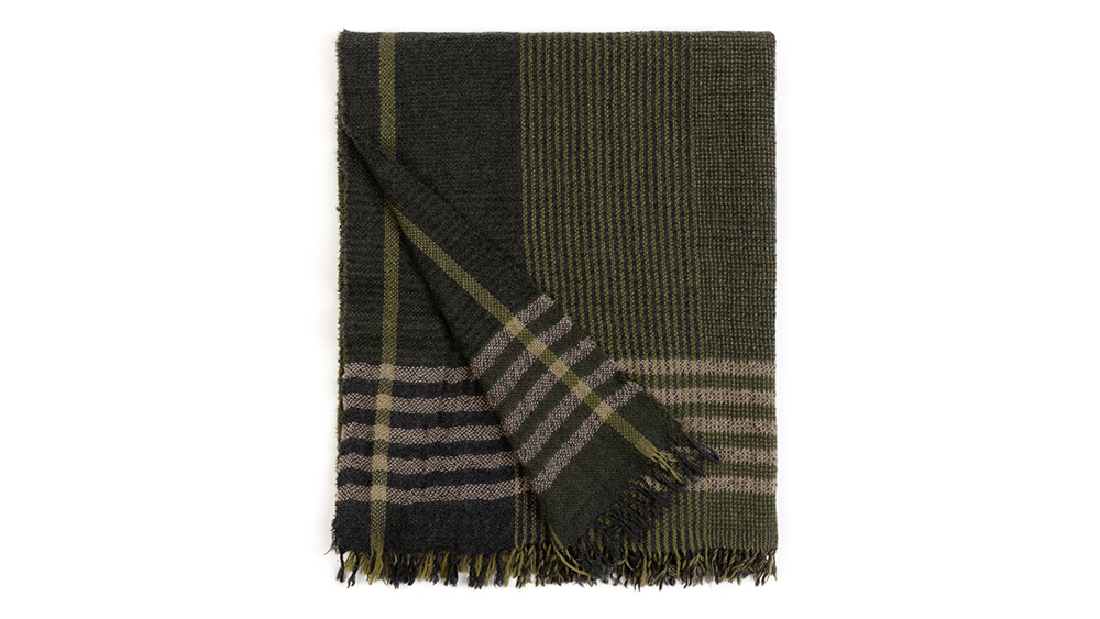 Begg & Co. x Trunk cashmere scarf ($376).