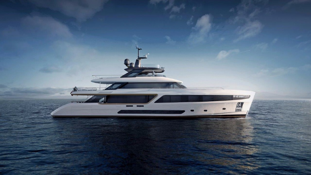 The Benetti Motopanfilo is a new retro Superyacht design with many modern features