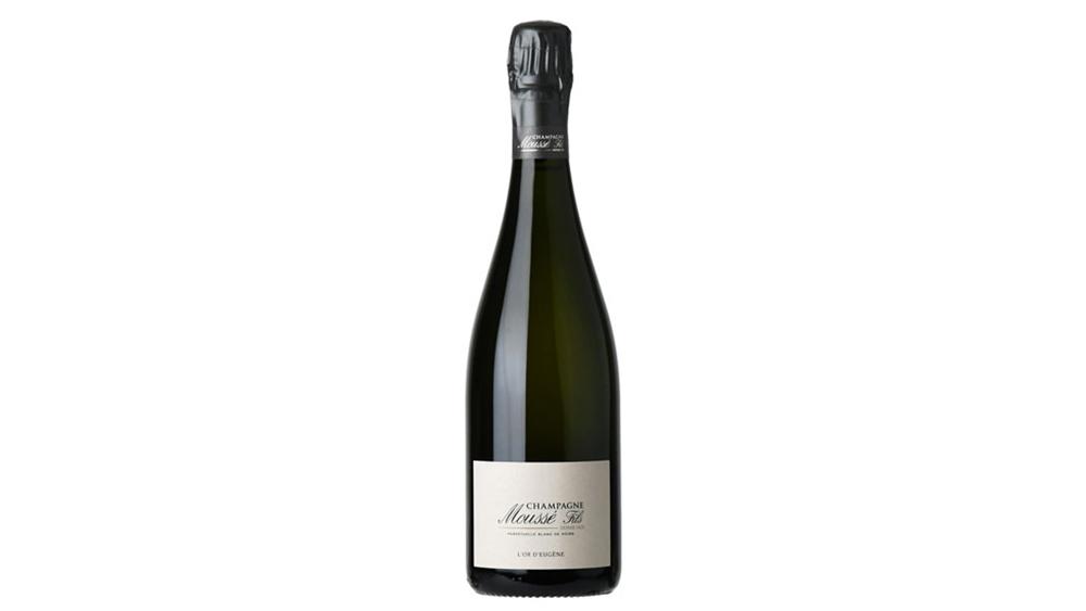 """Moussé Fils """"L'Or d'Eugene Perpétuelle"""" Brut Blanc de Noirs Champagne"""