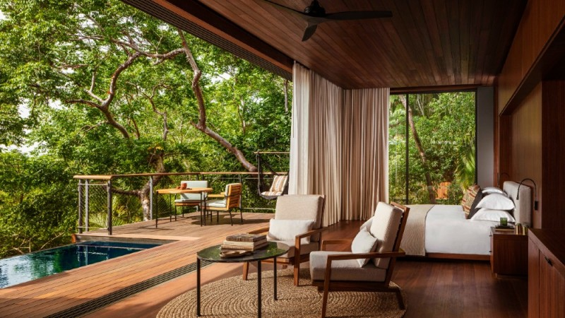 Panoramic Ocean Treehouse, One&Only Mandarina