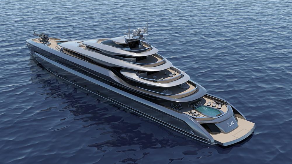 Opalinski Design House Indah Megayacht