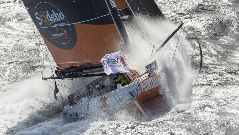 This rescue in the Vendée Globe nonstop global sailing race was the most dramatic in the last decade