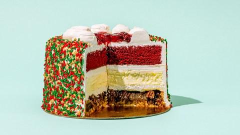 christmas piecaken eggnog cheesecake