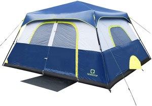 QOMOTOP 60 Seconds Set-Up Camping Tent