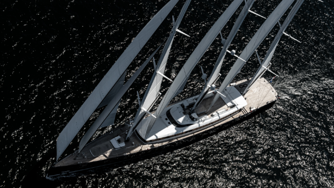 Royal Huisman's Sea Eagle was a critical launch for the Superyacht sailing segment.