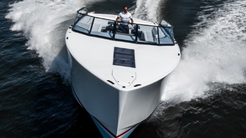 A Dutch Prince Loves His Go-Fast 52-foot yacht so much he started a company to sell them