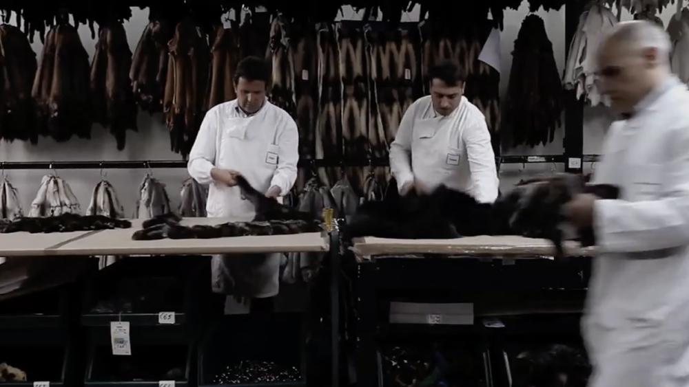 Fendi fur workshop