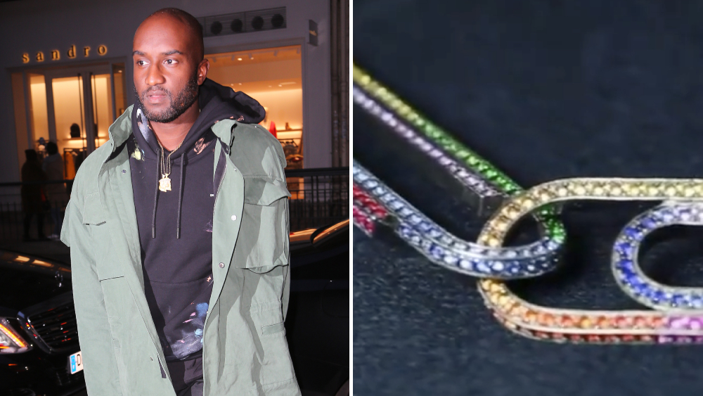 Virgil Abloh Jacob & Co. Office Supplies necklace