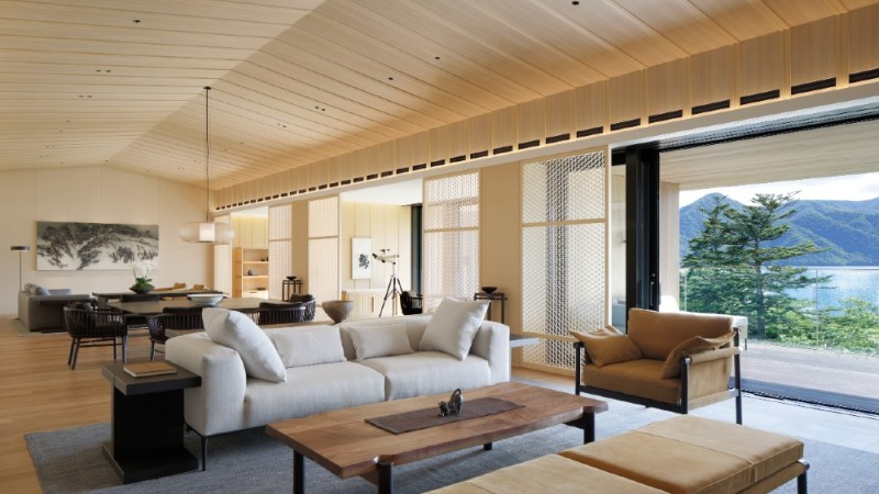 The Ritz-Carlton Suite, Nikko, Japan