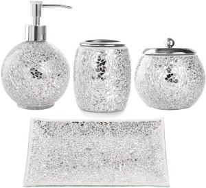Whole Housewares Bathroom Accessories Set
