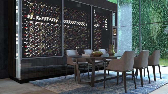 WineCab WineWall