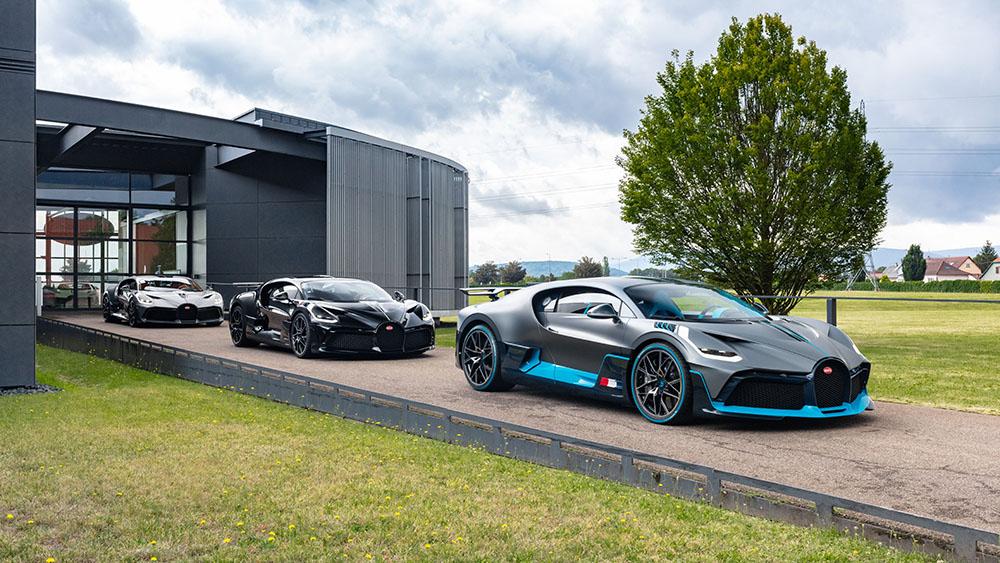 The Bugatti Divo customer deliveries began in August 2020.