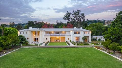 Barron Hilton's historic Holmby Hills estate