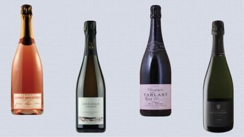 grower champagne bottles