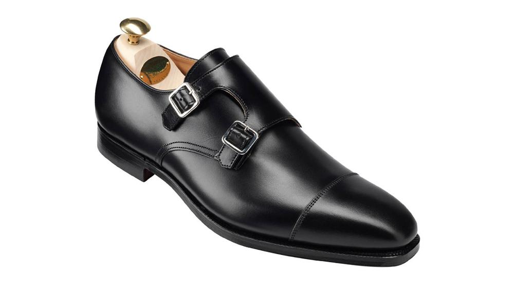 Crockett & Jones monkstrap shoes